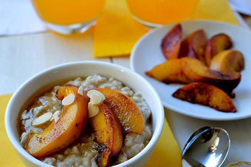 almond porridge momsfitnessheaven