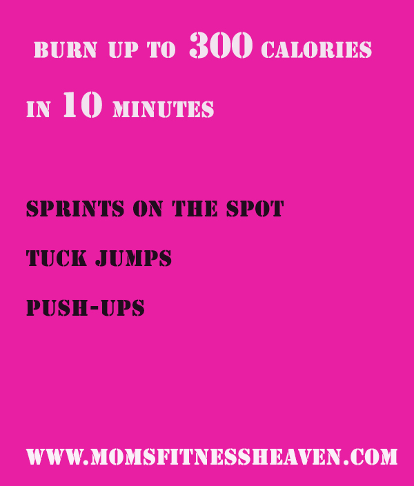 burning 300 momsfitnessheaven