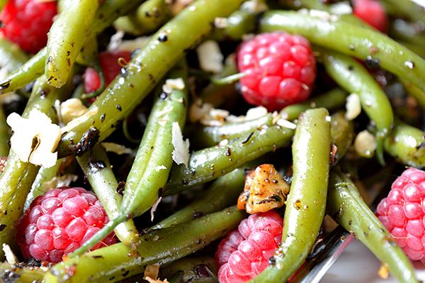 salad green beans moms fitness heaven