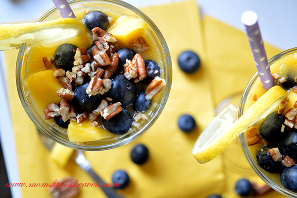 mango lemon smoothie momsfitnessheaven 12