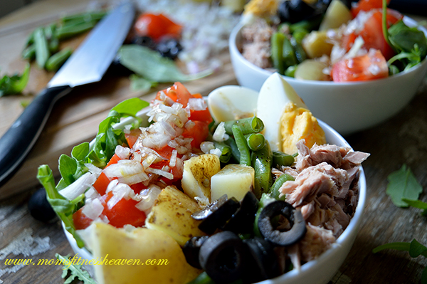 nicoise salad momsfitnessheaven mk