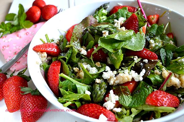 spring salad moms fitness heaven