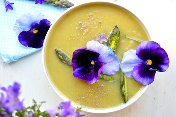 leek asparagus soup
