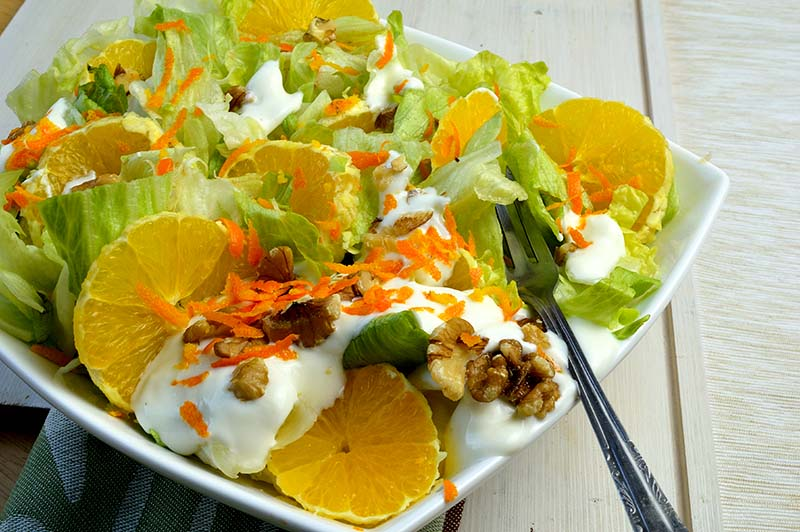 orange salad momsfitnessheaven.com
