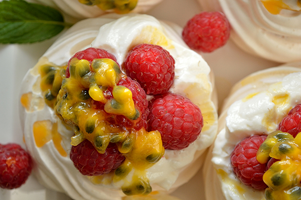 Raspberry pavlova recipe idea