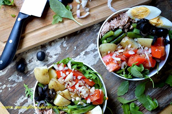 nicoise salad momsfitnessheaven