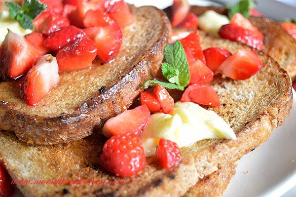 spring french toast momsfitnessheaven