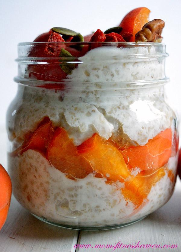 0overnight apricot oats