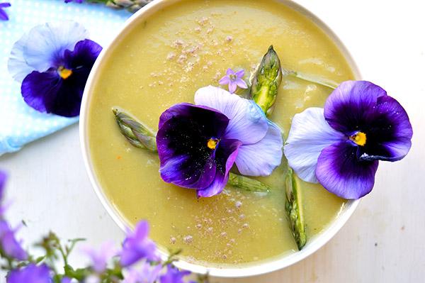 aspragus soup